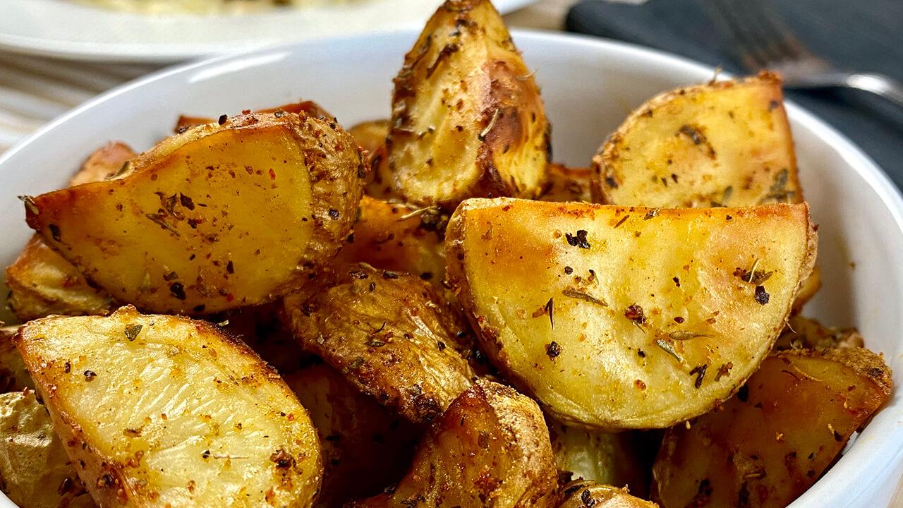 Receta de patatas especiadas
